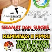Baliho Rapimnas II PPNSI AH