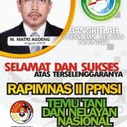 Baliho Rapimnas II PPNSI MA