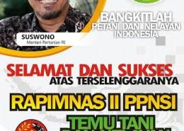 Baliho Rapimnas II PPNSI SW