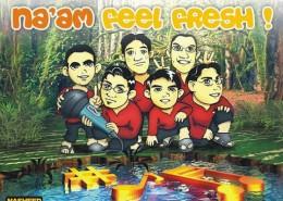 Cover CD Naam Feel Fresh 1