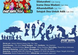 Cover CD Naam For Kids Back