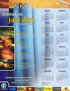 Desain Kalender Motivasi