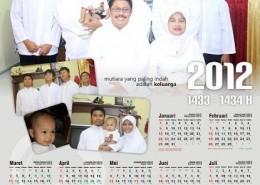 Family Calendar 2012