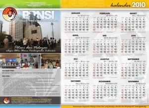 Kalender PPNSI 2010