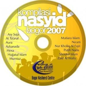 Label CD Kompilasi Nasyid Bogor 2007