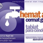 Sticker Hemat Air