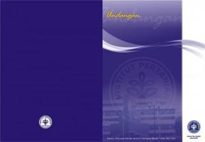 Undangan Pemilihan Rektor IPB 1