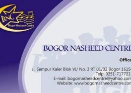 Kartu Nama BNC (depan)