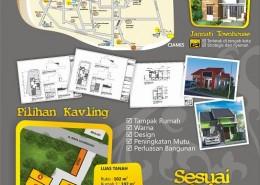 Leaflet Jannati Townhouse (belakang)