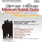 Leaflet Seminar Hari Guru PKS